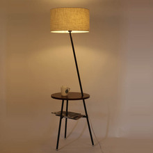American Nordic NEW remote vertical bedroom floor lamp The living room sofa table lamp floor lamp simple modern creative