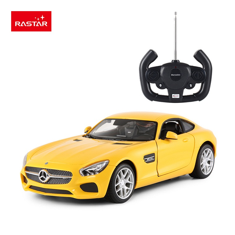 Rastar Licensed Rc Car 1 14 Mercedes Amg Gt Por Ful Cool Electric Work By Battery Plastic Drift Cars 74000