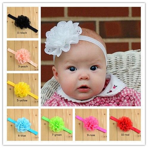 hair accessories baby headband for girl elastic hair bands