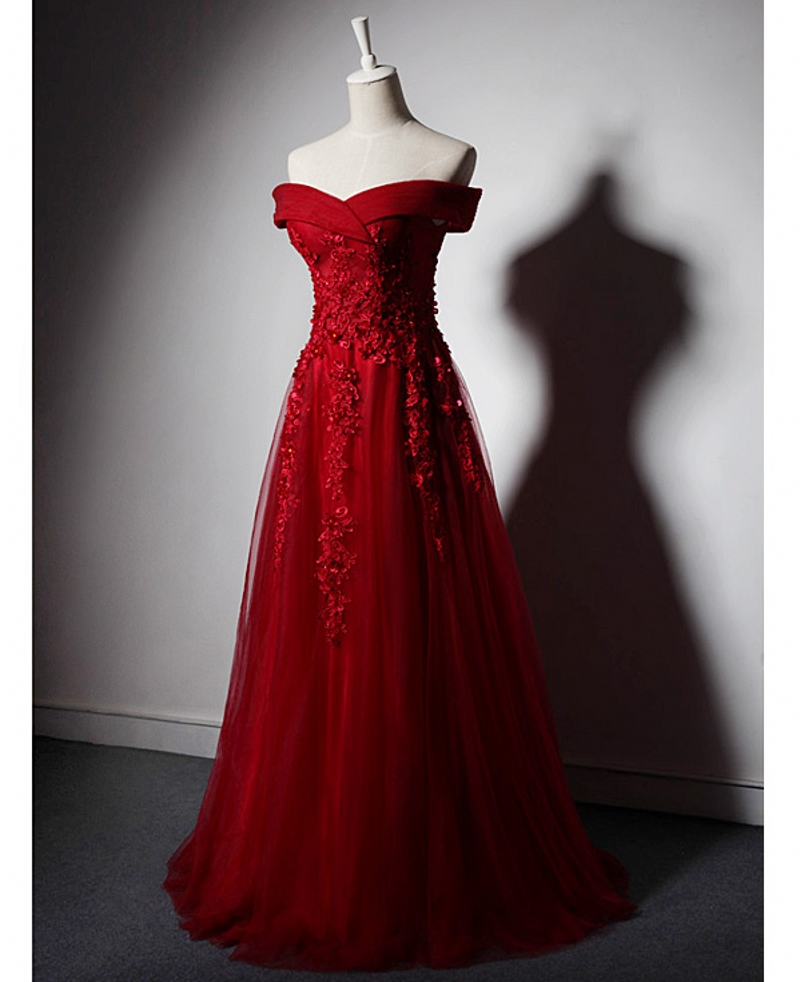 Red Lace Mother of the Bride Dresses for Weddings Evening Gowns A Line Beaded Elegant Formal Godmother Groom Long Dresses