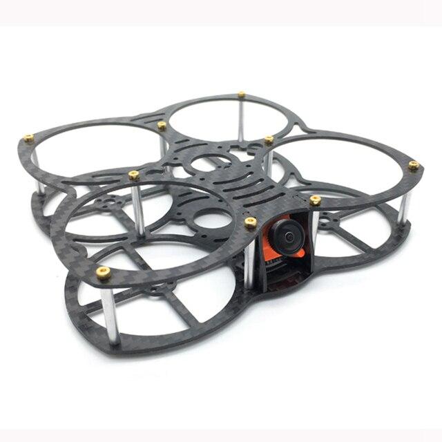 Exuav 90 мм Колесная база мм 1,5 толщина углерода волокно FPV системы Racing рамки 31 г поддержка Runcam Micro Swift для Multirotor запчасти