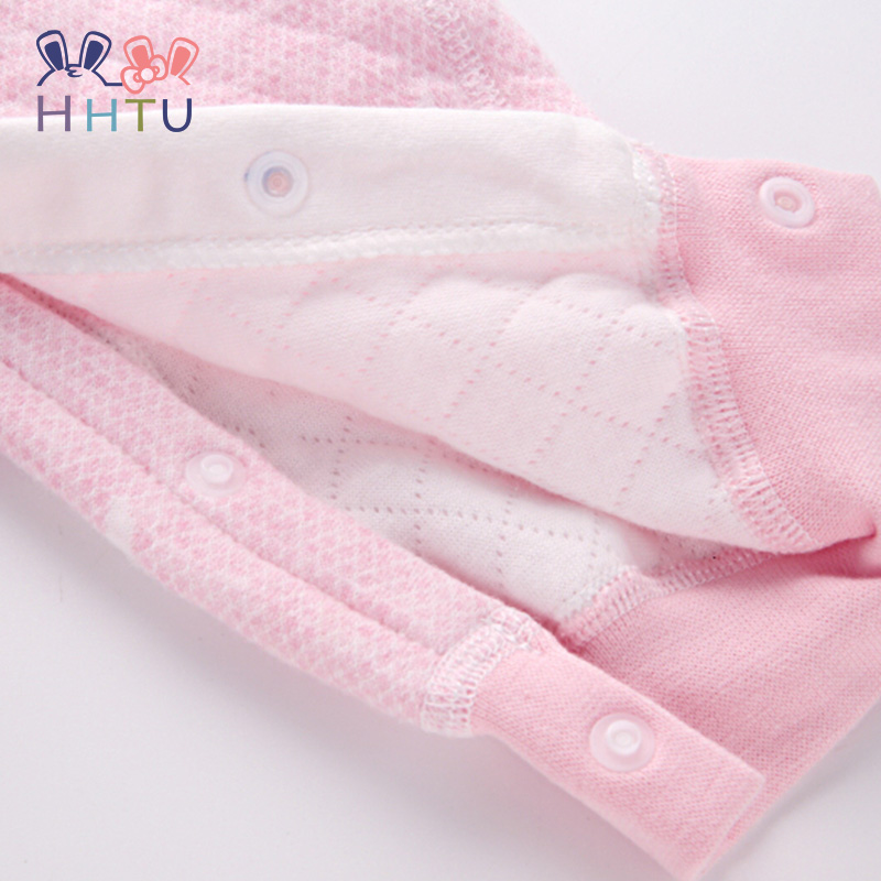 0983aa9e6df4 Buy HHTU Newborn Quilted Cotton Keep Warm Baby Boys Girls rompers ...