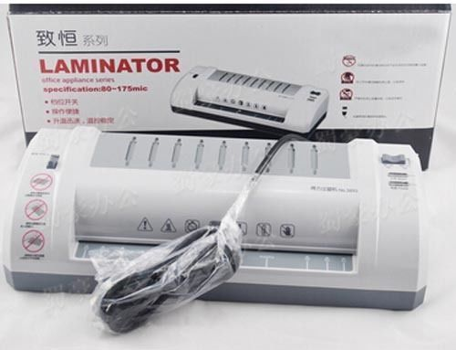 A4 Photo Laminator Document Photo Thermal Laminating film Machine Laminator 220V a3 a4 roll laminator laminating machine 4 roller system photo laminator lk4 320 220v 300w cold laminator