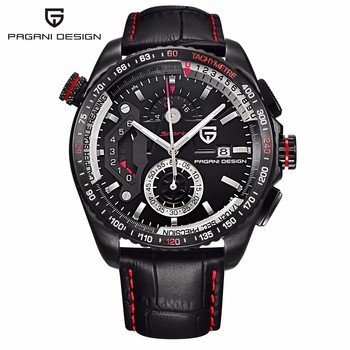 Original PAGANI DESIGN Chronograph Sport Uhren Japan Bewegung Edelstahl Fall Wasserdicht Quarz Uhren Relogio Masculino