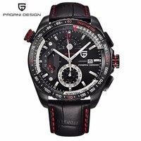 Original PAGANI DESIGN Chronograph Sport Watches Japan Movement Stainless Steel Case Waterproof Quartz Watches Relogio Masculino