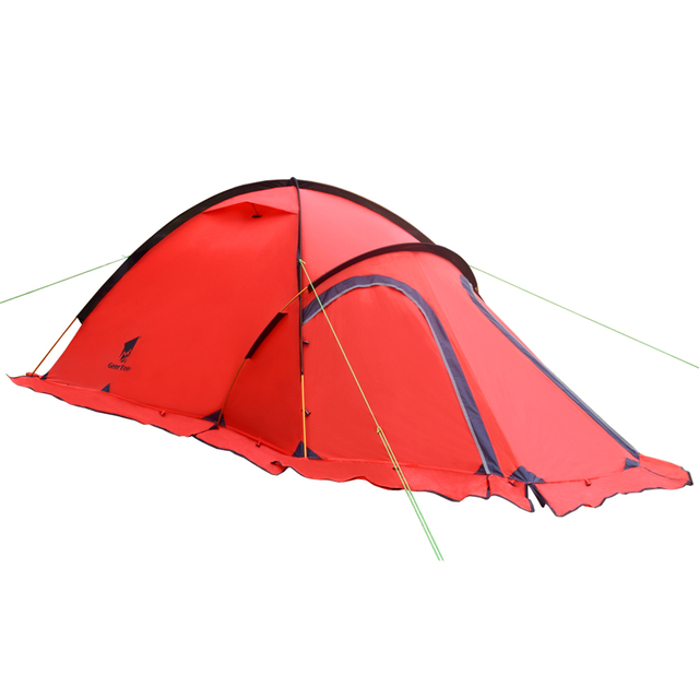 225 & US $170.99 |GeerTop Navigator 2Plus 2 Person 4 Season 20D Lightweight Winter Tent (Red)-in Tents from Sports u0026 Entertainment on Aliexpress.com | ...