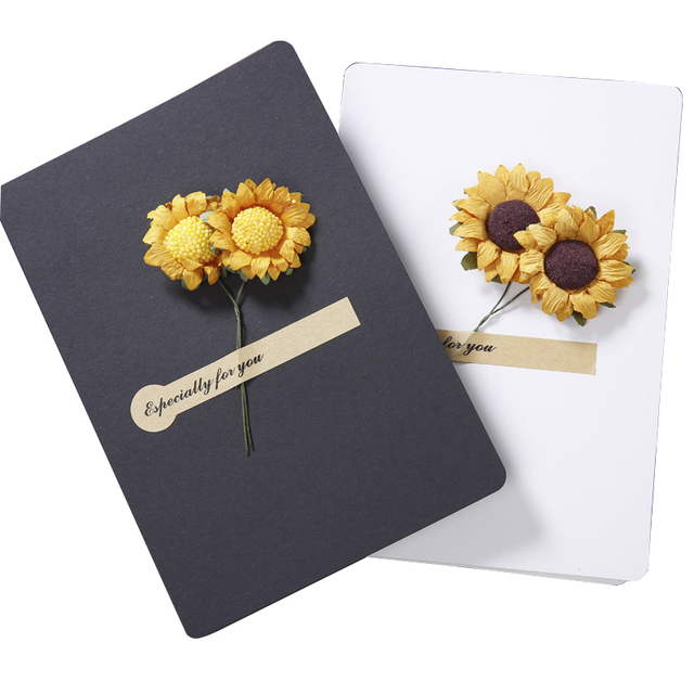 souarts sunflower cards mother father message thanksgiving universal