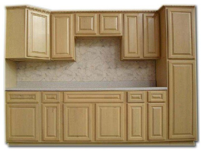 Solid Wood Pine Wood Kitchen Cabinet Sideboard Cupboard