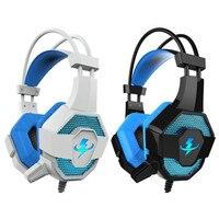Shzons G2 Professionelle Video Spiel Kopfhörer Luminous Gaming Headset Kontrabass Elektronische Sport Headset Mit Mikrofon Für PC