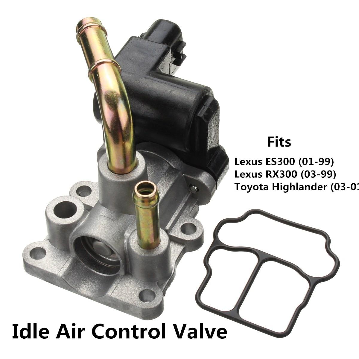 New Idle Air Control Valve fits Lexus 99-01 ES300 99-03 RX300 01-03 Highlander