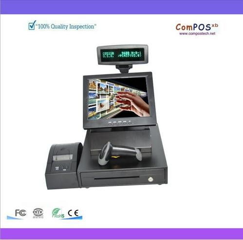 pos all in one/nice quality/hot sales  12-inch Touch cash register/POS machine 58mm receipt printer+Cash drawer  barcode scanner pos all in one nice quality hot sales 12 inch touch cash register pos machine 58mm receipt printer cash drawer barcode scanner