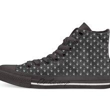 LEMMY/Повседневная парусиновая обувь с высоким берцем; кроссовки; Прямая поставка