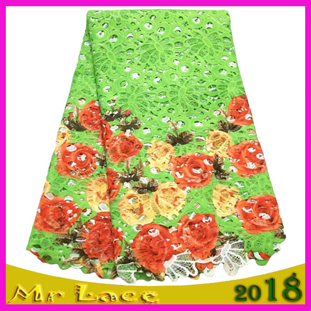 Free Shipping Embroidery Designs High Quality African Cord Lace
