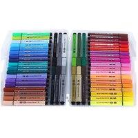 12 18 24 36 48 Color Pen Art Marker Drawing Set Colors Children Watercolor Pen Safe