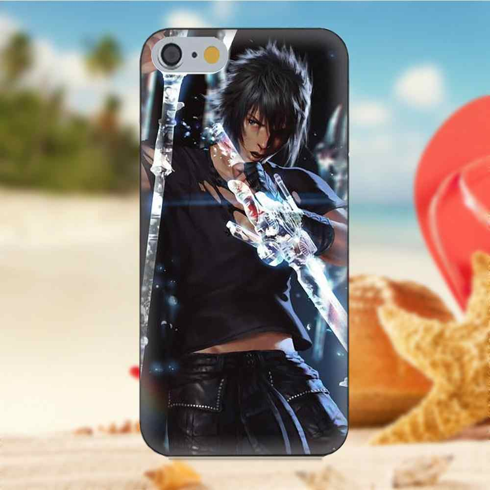 Final Fantasy» и «Final Fantasy дизайн мягкой коробки звонока для iPhone 4S 5S 5C SE 6 S 7 8 Plus iPhone X Galaxy Note 5 6 8 S9 + большое ядро рrime alрha
