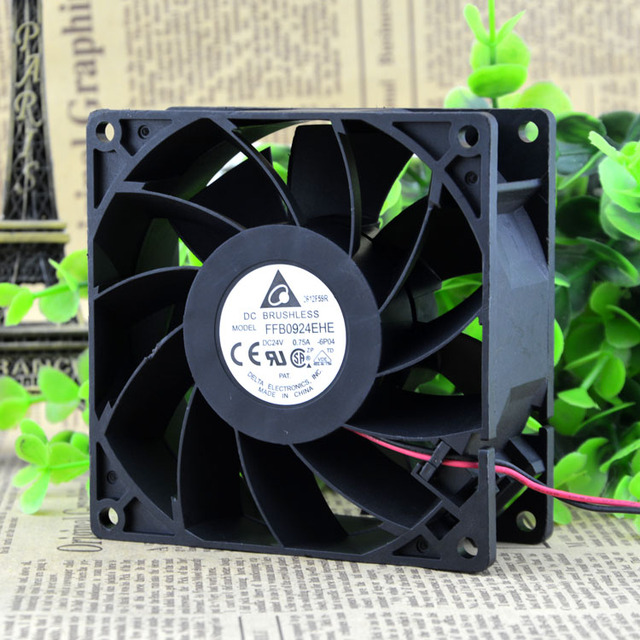 Free Delivery. The original 9 cm 9038 FFB0924EHE 24 v 0.75 a 9238 frequency converter cooling fan