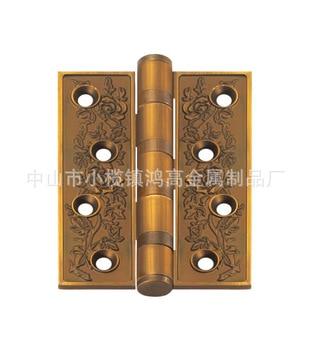 [Xi Ya Hardware] zinc alloy hinge C rose 4 * 4 cm thick flat open hinge zinc alloy hinge