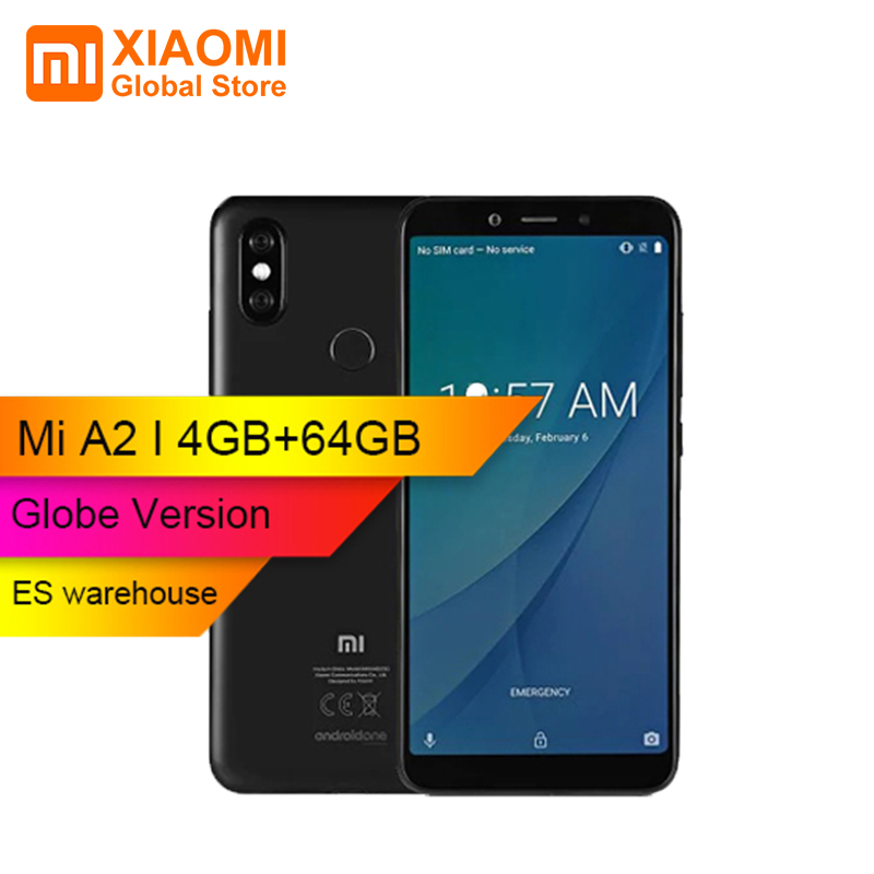 Global Version Xiaomi Mi A2 MiA2 Phone Snapdragon 660 4GB 64GB 5 99 18 9 Full