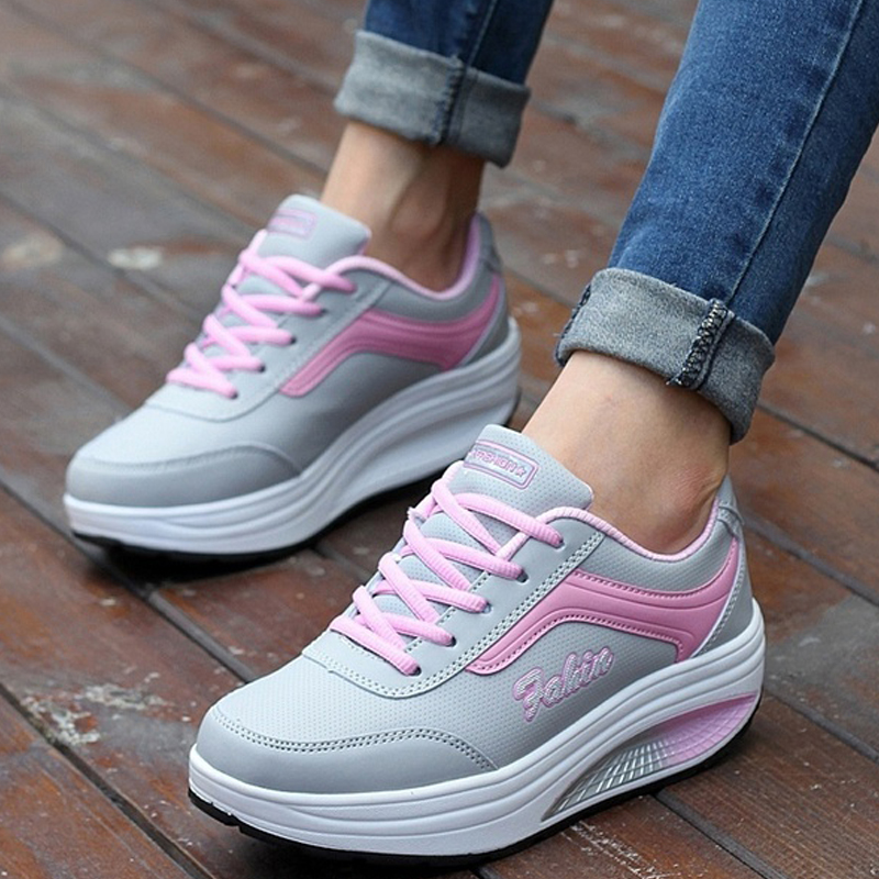 Vulcanize Shoes Summer Height Increasing Platform Shoes Trainers Women Sneakers Flats Wedges Female Comfortable Footwear forudesigns women fashion high top flats shoes cool skull design female height increasing platform shoes for teenage girls shoes