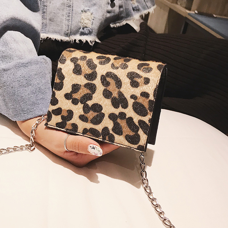 Detail Feedback Questions about Leopard Crossbody Bag For Women 2019 Female  Mini Chain Handbag Women s crossbody messenger hand bag small shoulder bags  New ... 37f79626ecb87