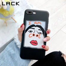 Funny Cartoon Couples Phone Case For iphone 7 6 6S 8 Plus Case For iphone X