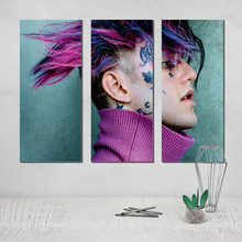 Lil Peep Painting Photo Canvas Poster Modern Abstract on Decorative Pictures Hand Made Art Pop