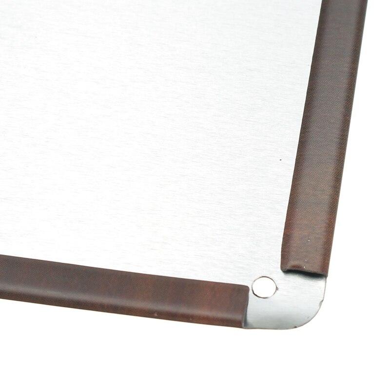 Ρετρό πλάκα Premium ΠΡΑΣΙΝΟ μεταλλικά - Διακόσμηση σπιτιού - Φωτογραφία 6