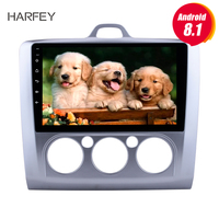 Harfey for 2004 2011 Ford Focus 2 Auto 9 HD car multimedia player Android 8.1 Radio GPS Navigation 3G WIFI RDS Bluetooth SWC
