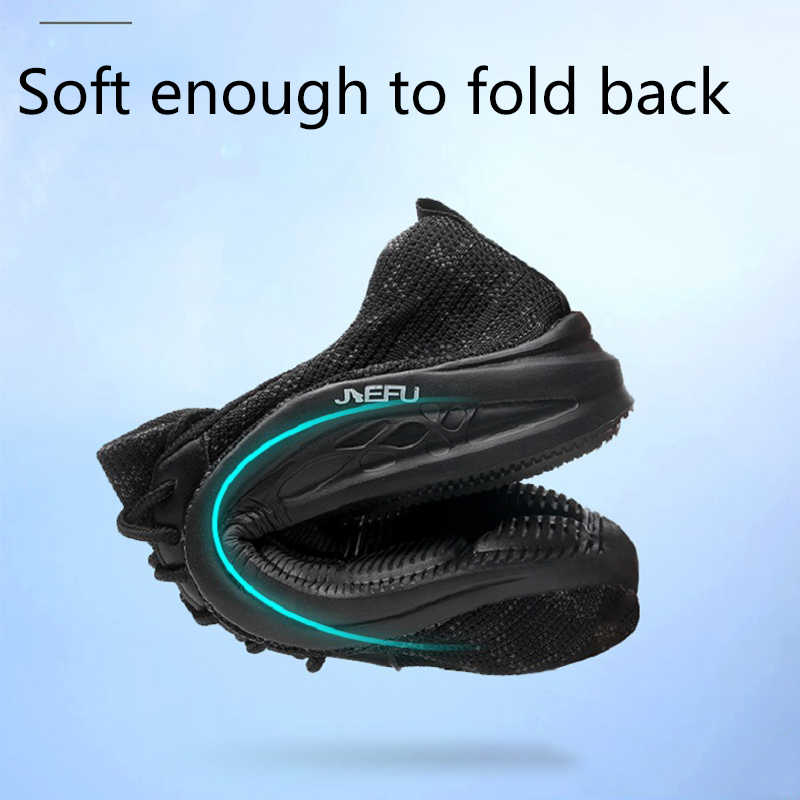 Летняя дышащая Рабочая страховая обувь; непромокаемая и прокалывающая защитная обувь; нескользящая износостойкая походная обувь