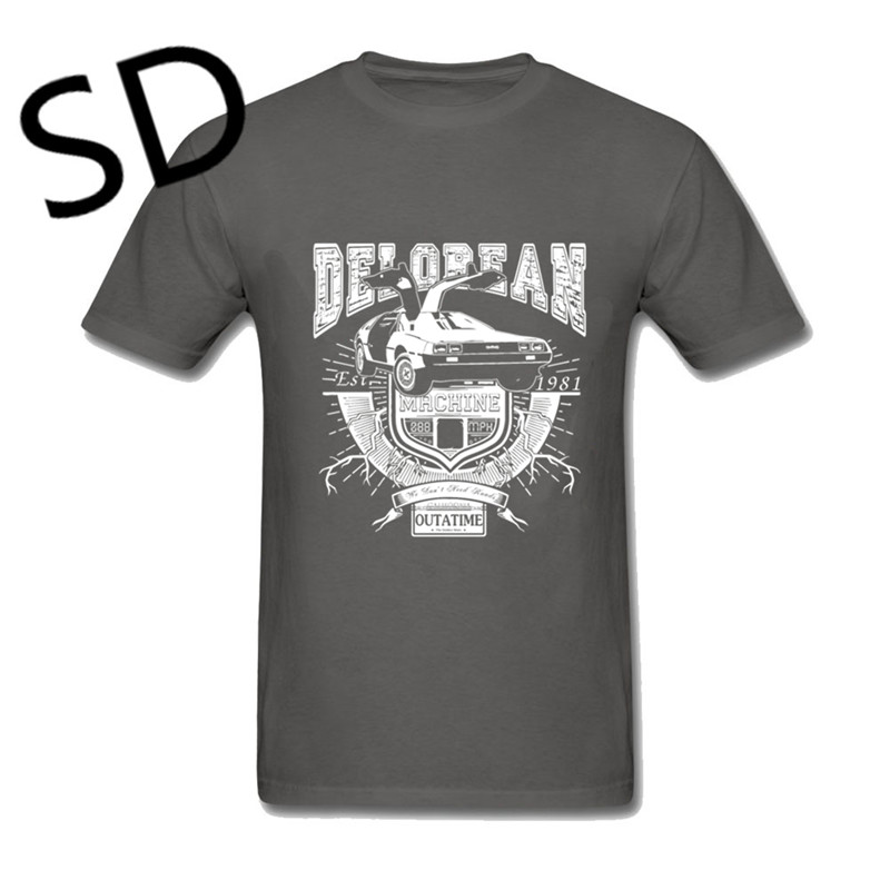 Dropshipping Back to the future Delorean Car T shirt Men brown marty mcfly  compression shirt camiseta hombre Summer Top Oversize-in T-Shirts from  Men s ... 1d0d5868a6f