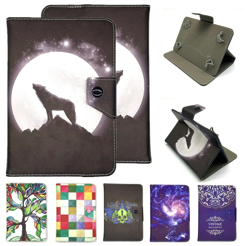 UNIVERSAL Cover For 7 Inch Tablet Samsung Galaxy Tab A6/E 3 Lite/4/3/2 7.0 SM-T280/T285/T110//T113/T230/T210 Stand Case