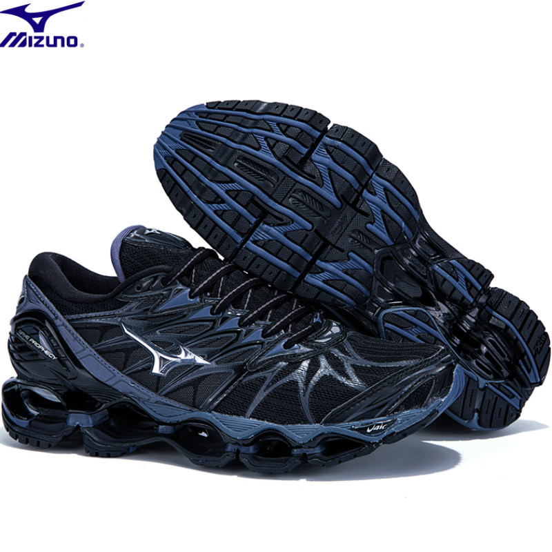 цена на Air Cushioning Original Mizuno Wave Prophecy 7 Professional Men Shoes Breathable Running Shoes WeightLifting Shoes Sneakers