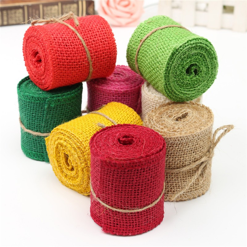 Colored burlap fabric reviews online shopping colored for Colored burlap fabric