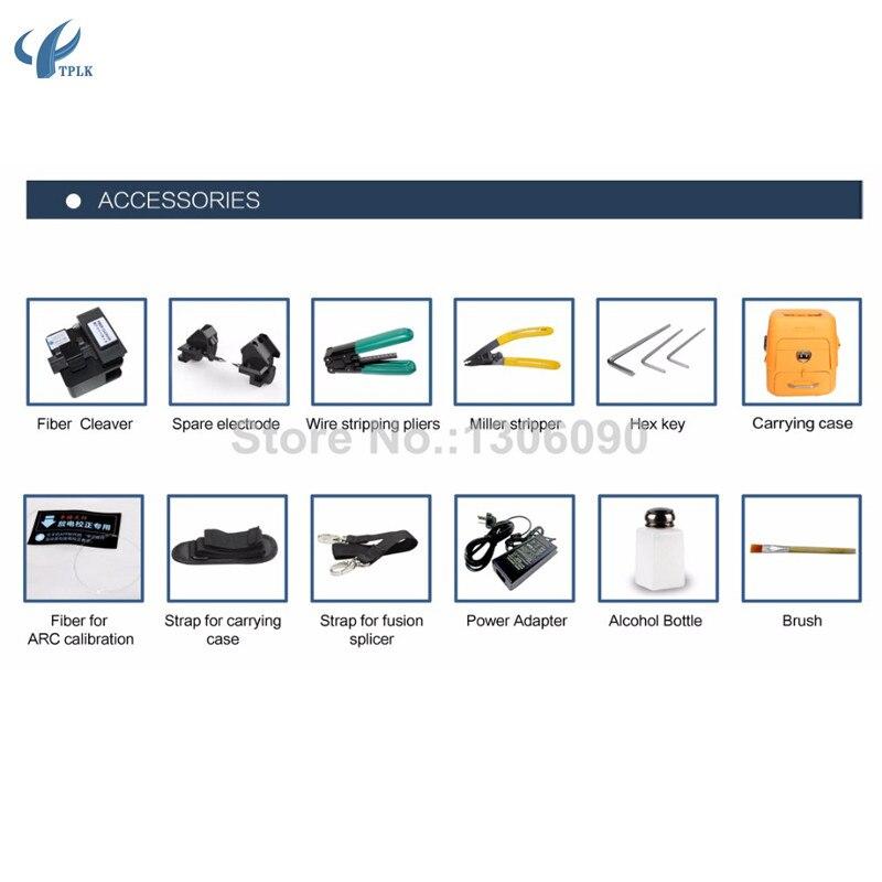AI-7C сварочный аппарат SM/MM автоматический FTTH для сварочного аппарата для оптоволоконной сварки