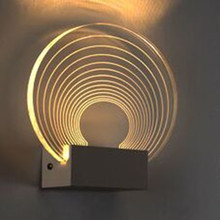 Современный простой и стильный домашний Декор настенный светильник LED, спальня, кабинет, Гостиная фоне стены, ТВ стены, дорожки бра