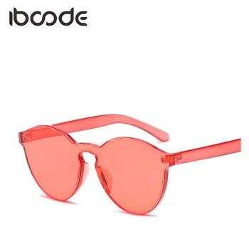 c26360f84d Iboode transparente Color caramelo mujer Gafas de sol Trendsetter tonos  nueva marca Gafas para mujeres lentes
