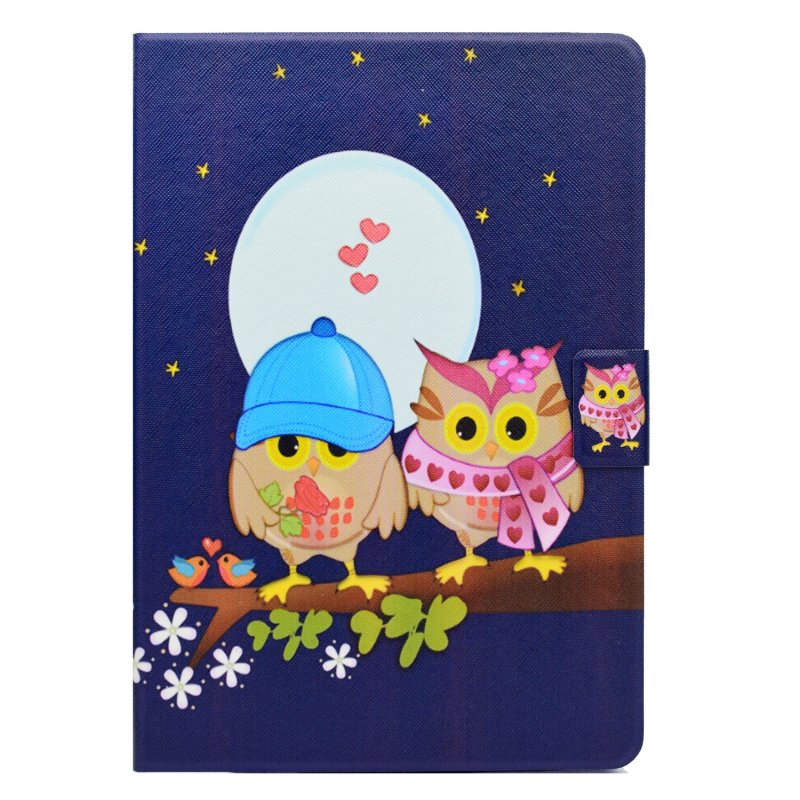 "PU Leather Wallet Smart Case for Apple iPad Pro 10.5"" 2017 Cover Tablet Accessory Stand Flip Unicorn Elephant Owls Hoesje Coque"