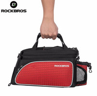 RockBros MTB Road Bike Bags Multifunction Cycling Bags Bicycle Bags Accessories Rear Back Riding Capacity Foldable