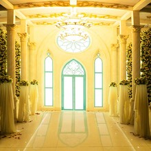 MEHOFOTO Vinyl Photography Background Vintage Castle Window Flower Computer Printed Wedding Backdrops for Photo Studio CM-6601 10x16ft wedding room seamless vinyl photography backdrops computer printed cm5269 golden castle background for photo studio