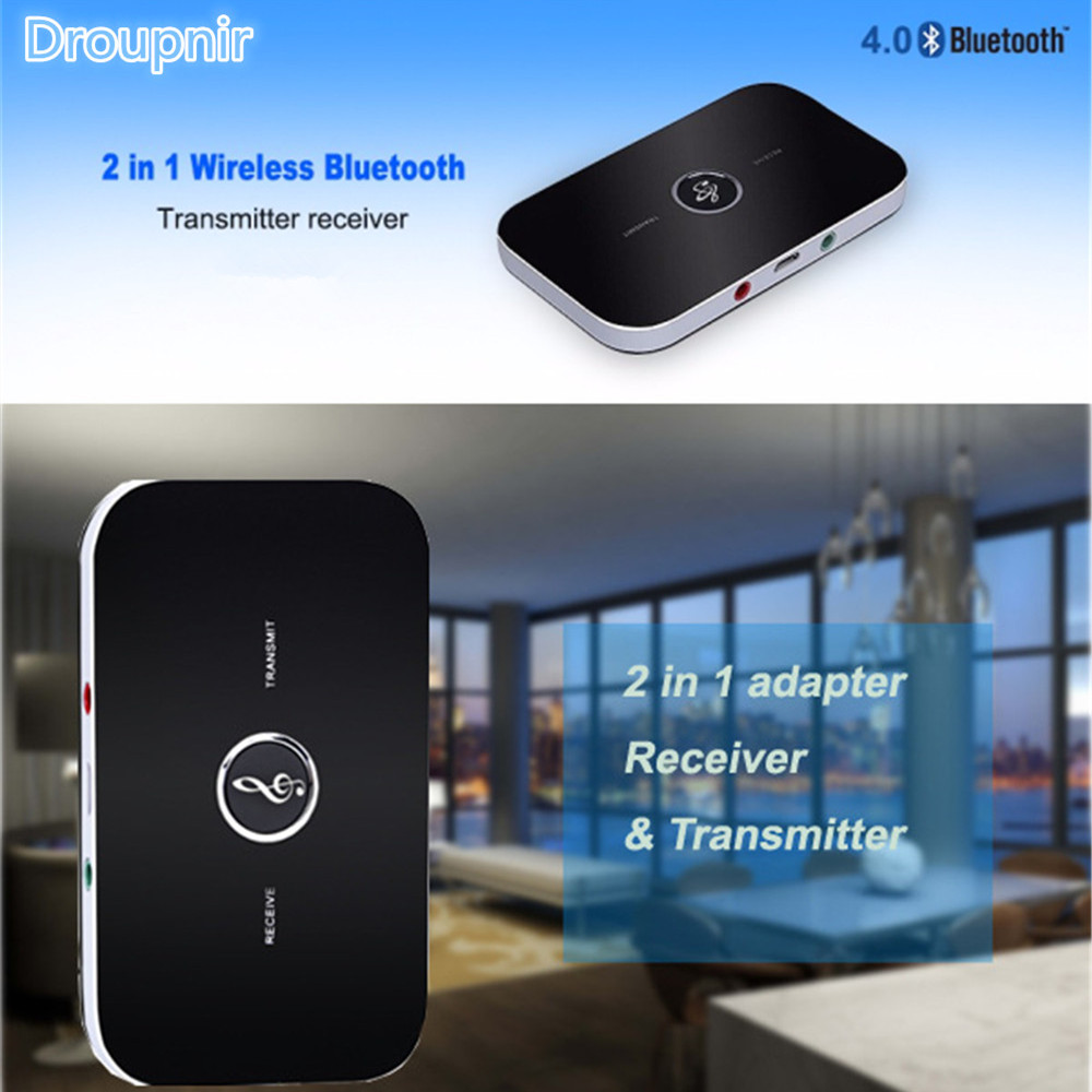 Funkadapter Tragbares Audio & Video B6 2in1 Bluetooth 4,1 Sender Empfänger Drahtlose A2dp Audio Adapter Aux 3,5mm Audio Player Für Tv Stereoanlage Smartphone Pc
