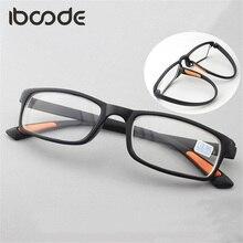 iboode TR90 Myopic Glasses Ultra-light Flexible Myopia Eyeglasses Women Men Short Sight Lens Eyewear Full Frame Oculos