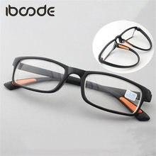 192a00d0af Iboode TR90 gafas miopic Ultra-ligera Flexible miopía gafas de mujer  hombres de visión corta gafas de marco completo gafas Oculo.