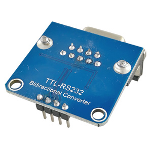 Image 4 - MCIGICM 100pcs MAX3232 RS232 to TTL Serial Port Converter Module DB9 Connector MAX232