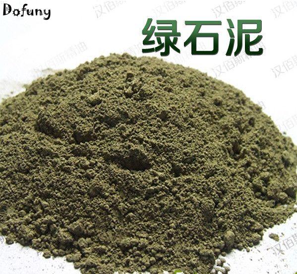 Green clay, Granular soap raw materials, refined natural, DIY facial mask materials,DIY mask tore brinck green energetic materials