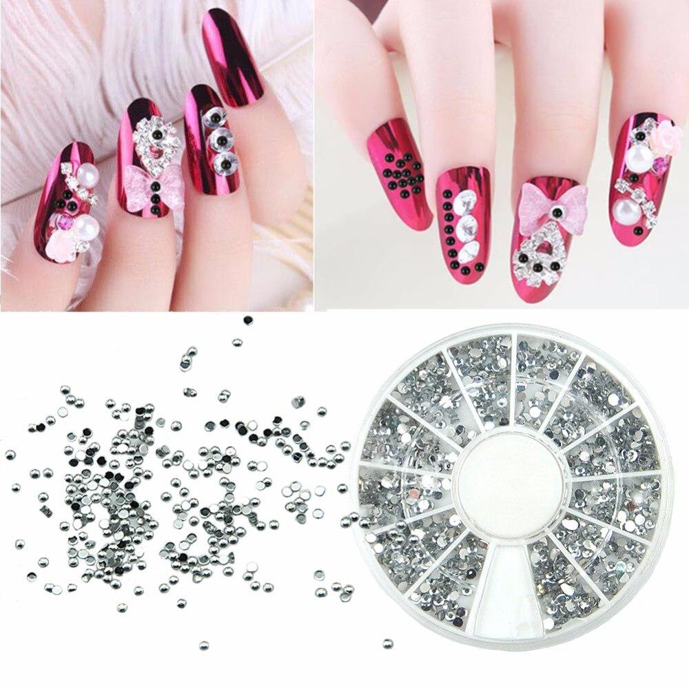 3D Nail Art Decorations Acryl Diamant Vorm Steentjes Om Nagels Art ...