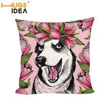 Husky Print With Achetez Dog Cushions Promotion Des zVUMqSpG