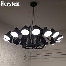 Horsten Modernen Amerikanischen Persönlichkeit lampe Spinne Erweiterbar licht Anhänger Skalierbare Lampe Hause/Büro/Bar Dekoration Licht Lampe