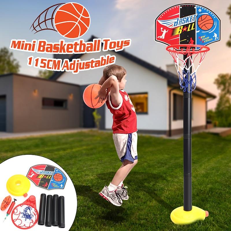 Children Basketball Stand Adjustable Basketball Backboard wi