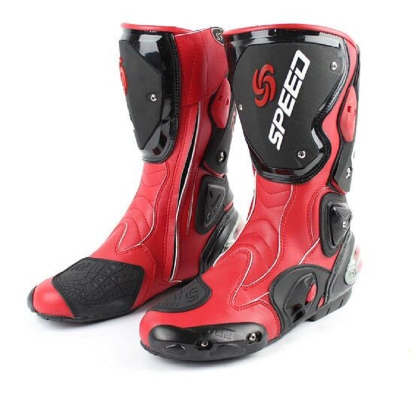 3 Colors Motorcycle Boots High speed Pro Biker SPEED Boots Protective Scooter font b Racing b