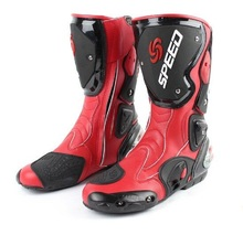 3 Colors Motorcycle Boots High-speed Pro Biker SPEED Boots Protective Scooter Racing Chaussures De Course Botas De Carreras